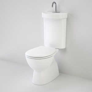 Caroma Profile 5 toilet with integrated hand basin