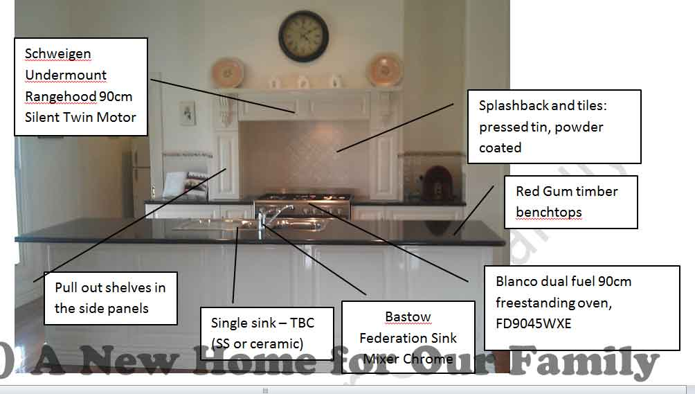Kitchen Specification