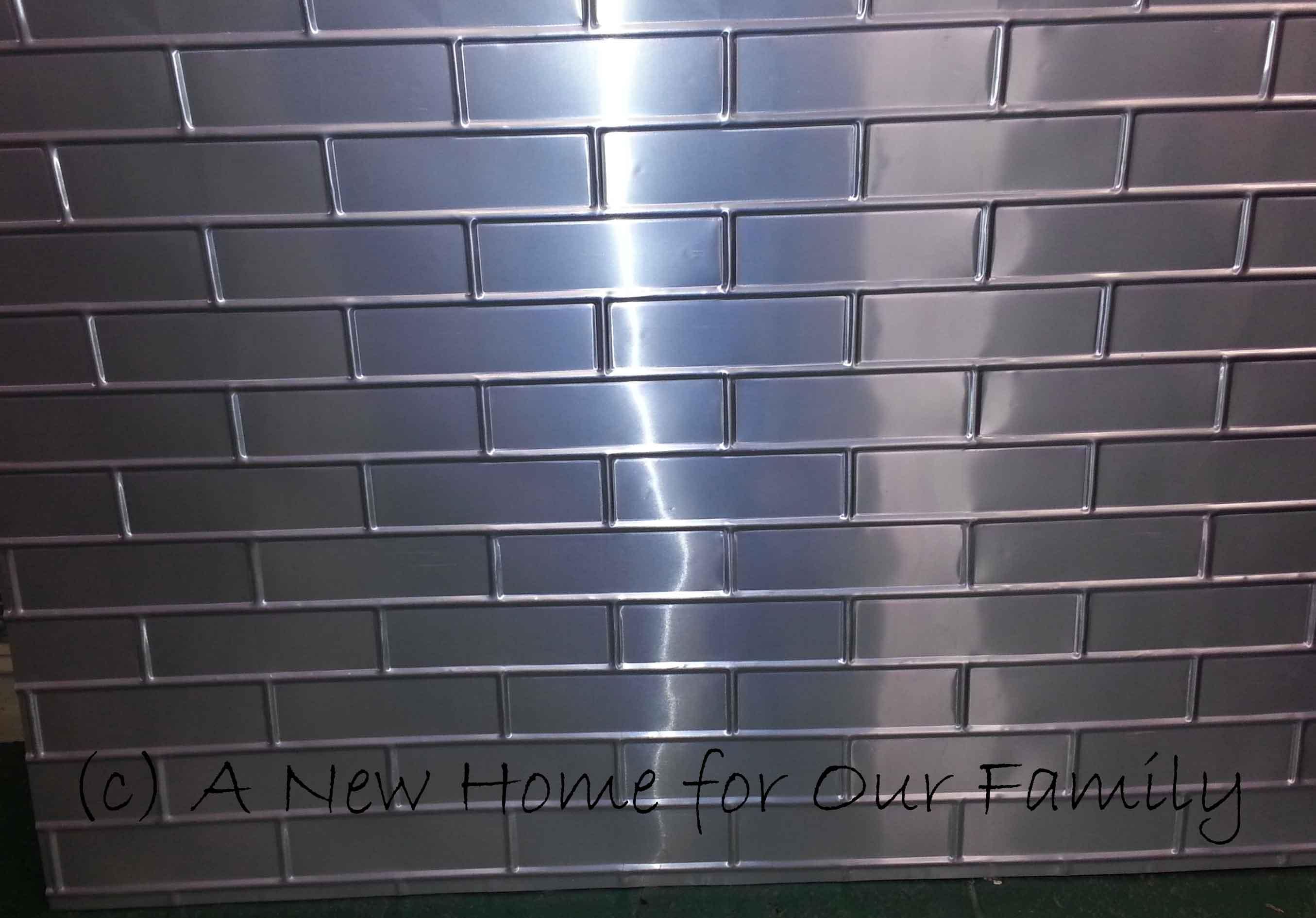 Pressed Tin Panels: Brick