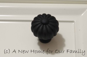 Pantry cupboard knobs