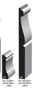 Australian Moulding Company Federation/Edwardian Moulds - F8