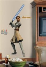 Giant Obi-Wan Kenobi removable wall sticker