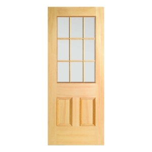 Nicholson Panel 9 Light Door Glazed 820mm