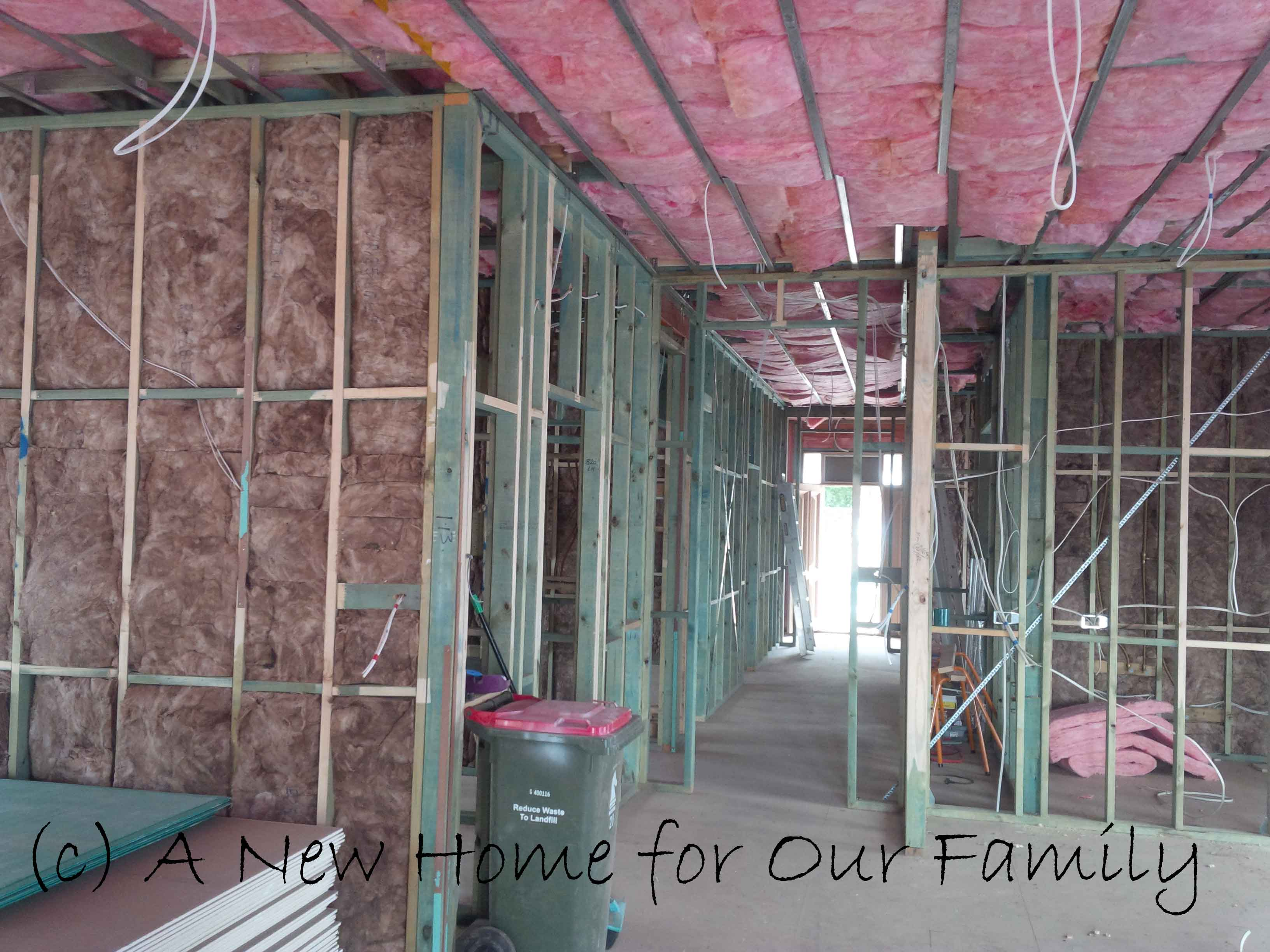 Insulation- Living and Hall