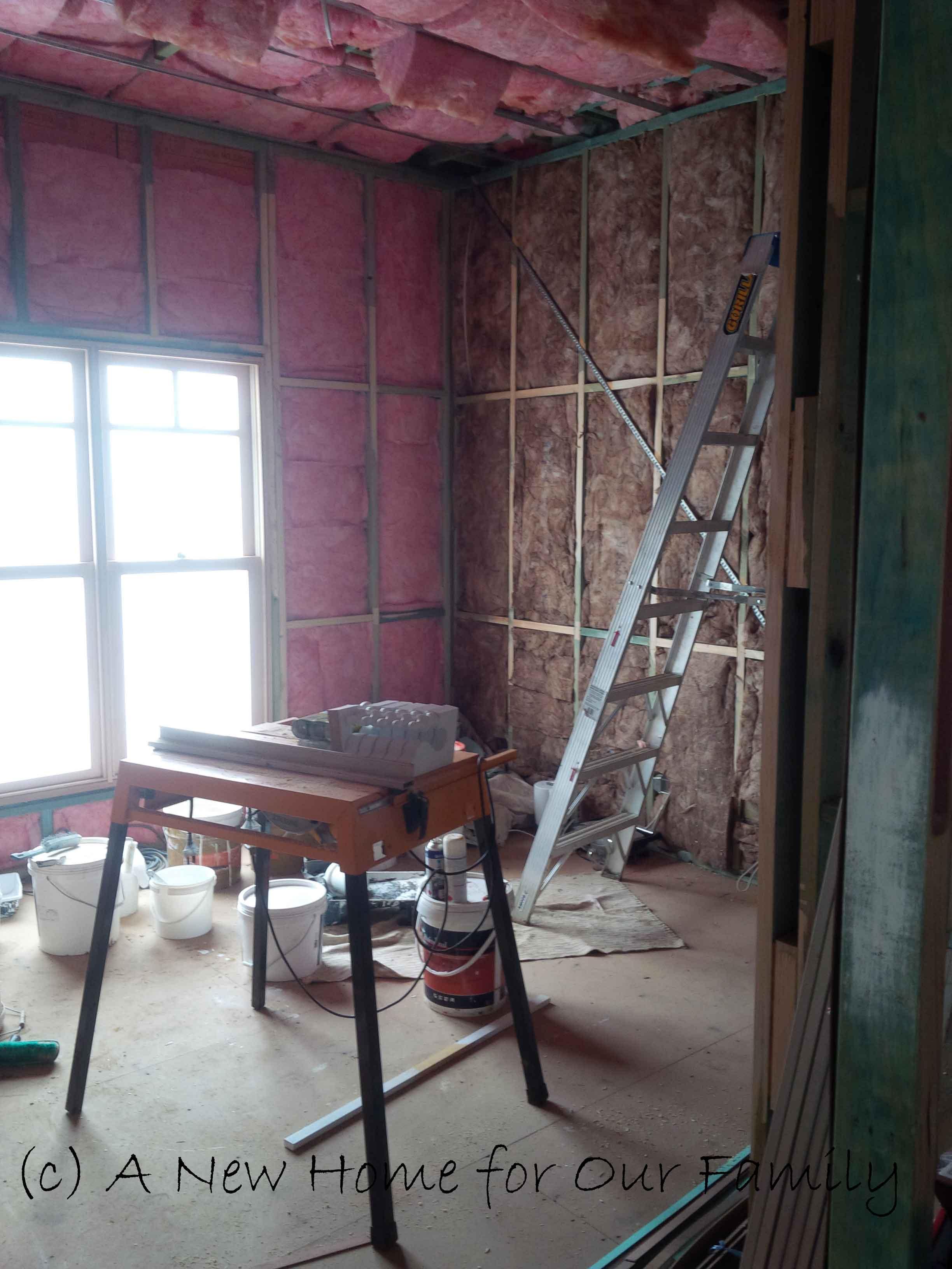 Insulation- Bedroom 3