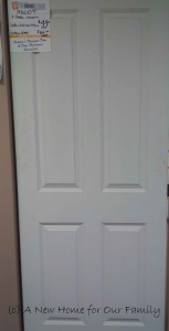 Internal Four Panel Door