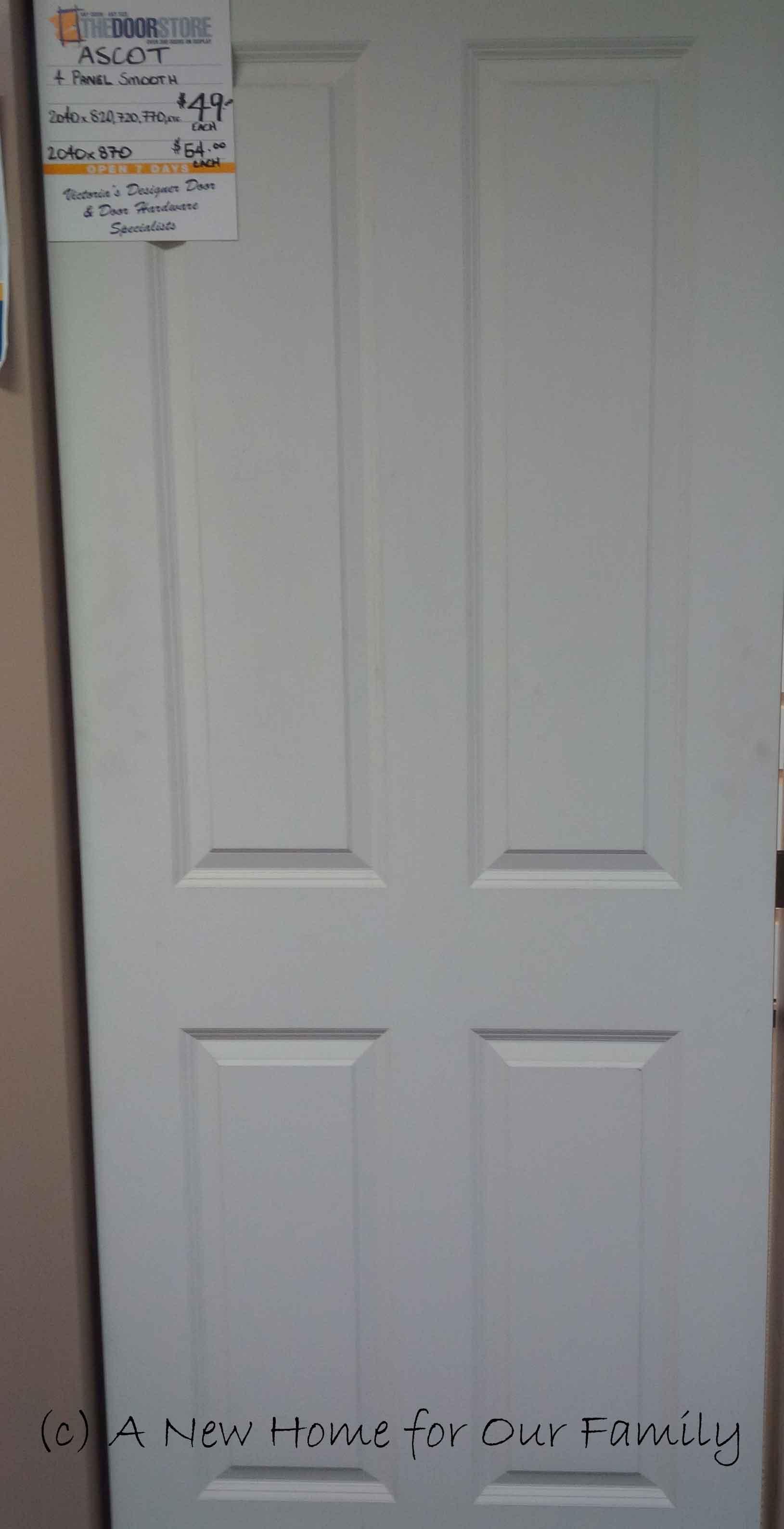 Internal Four Panel Door