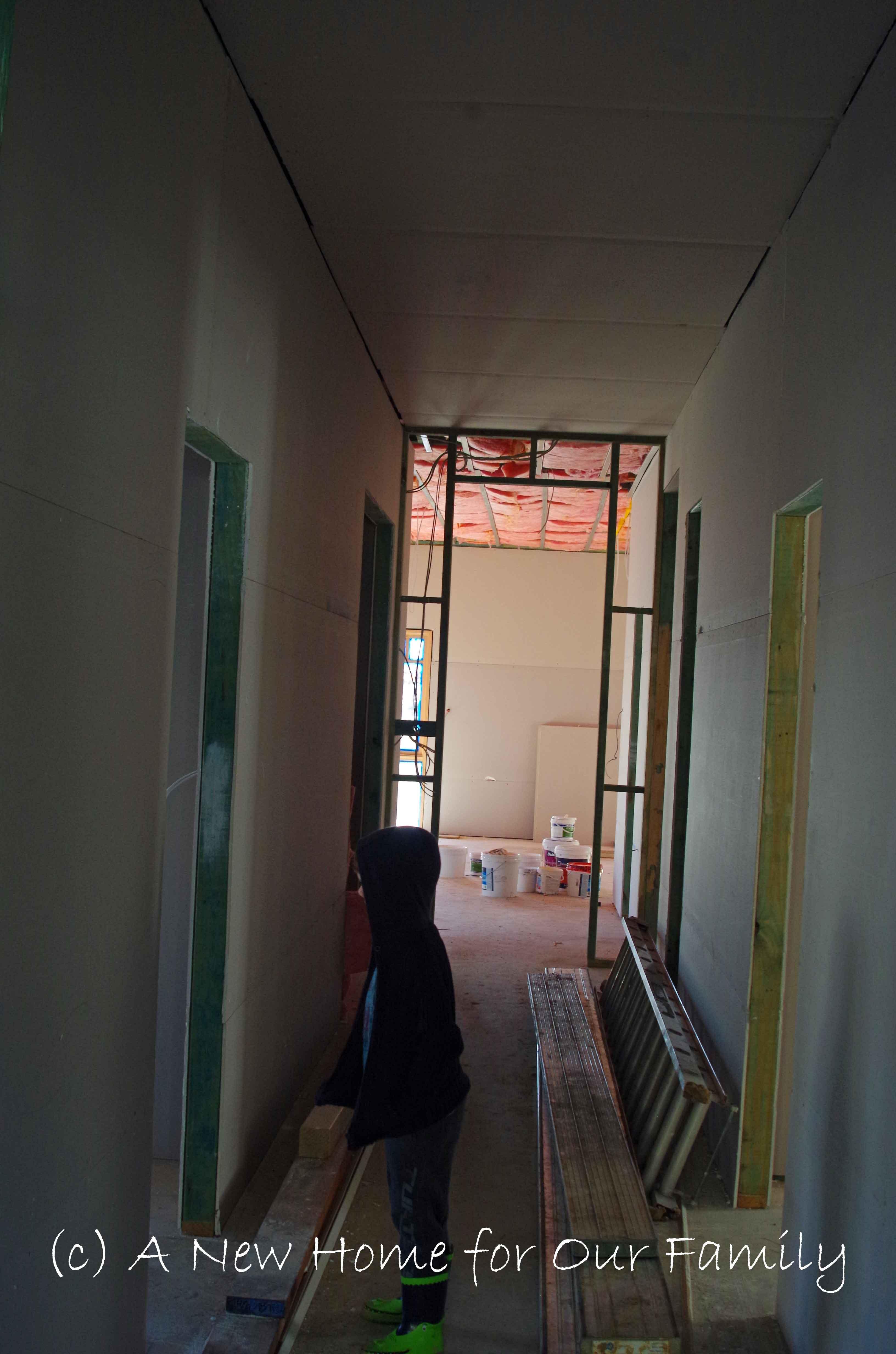 Plastering - Hallway
