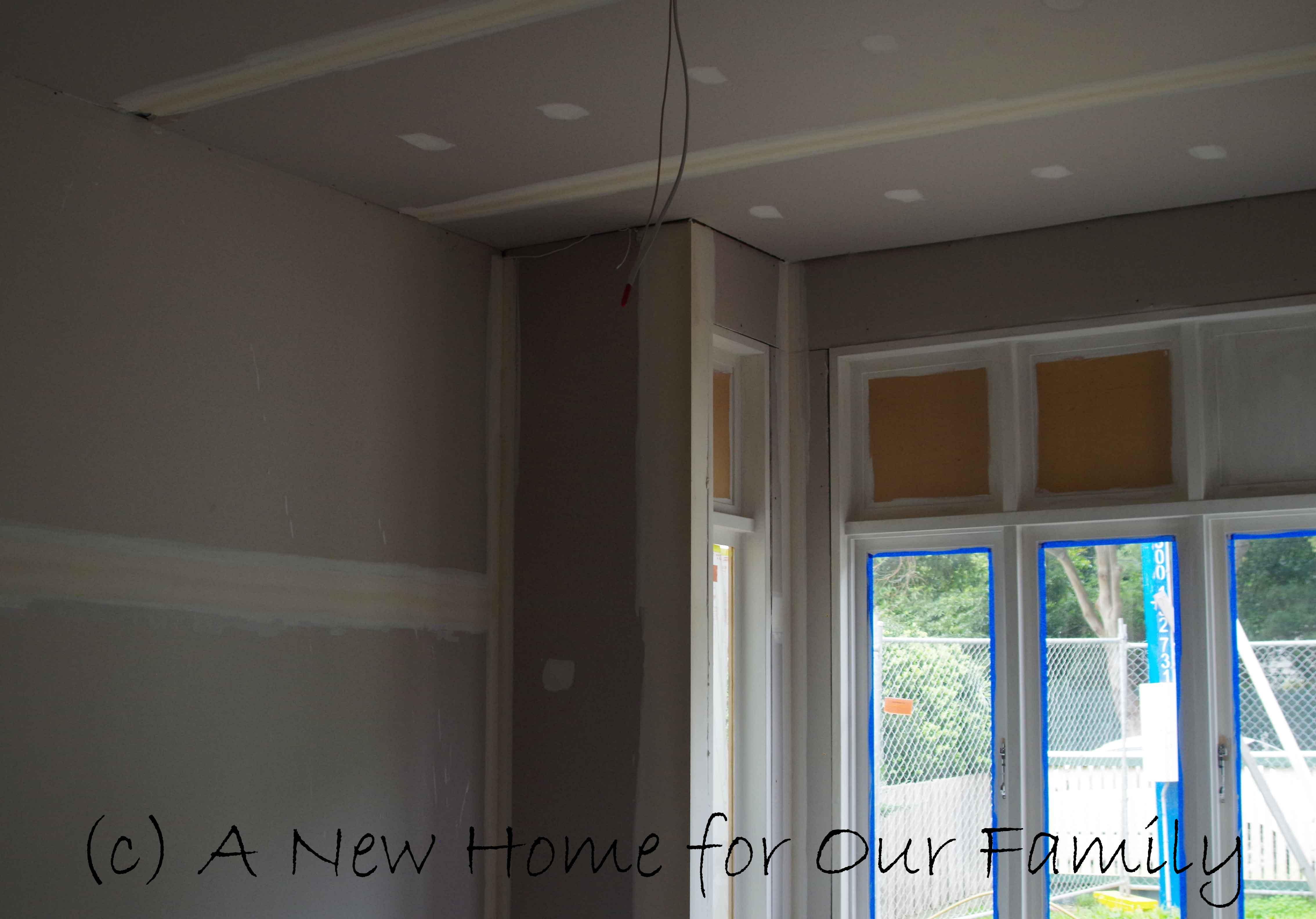 Plastering - Master Bedroom
