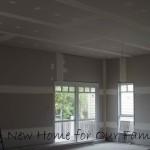 Plastering - Living Area