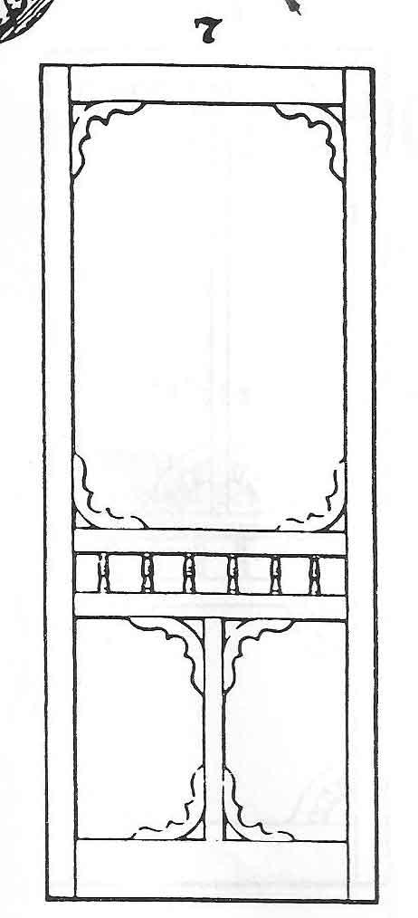 Victorian Screen Doors No. 7