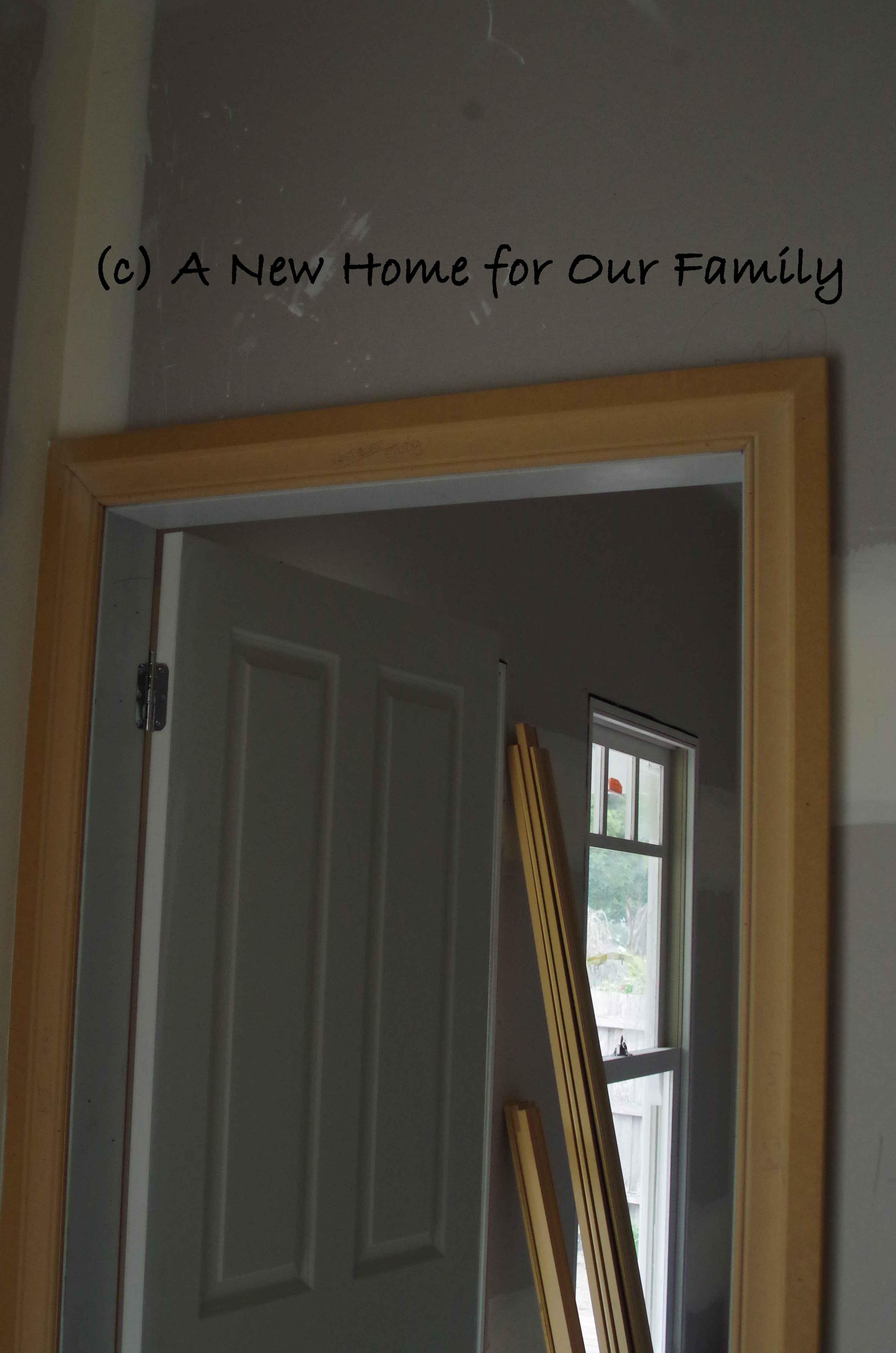 Architraves around doors