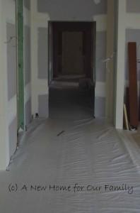 Bamboo Flooring - Hallway (protected)