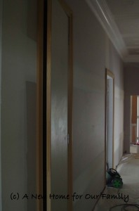 Hallway Doors and Cupboards
