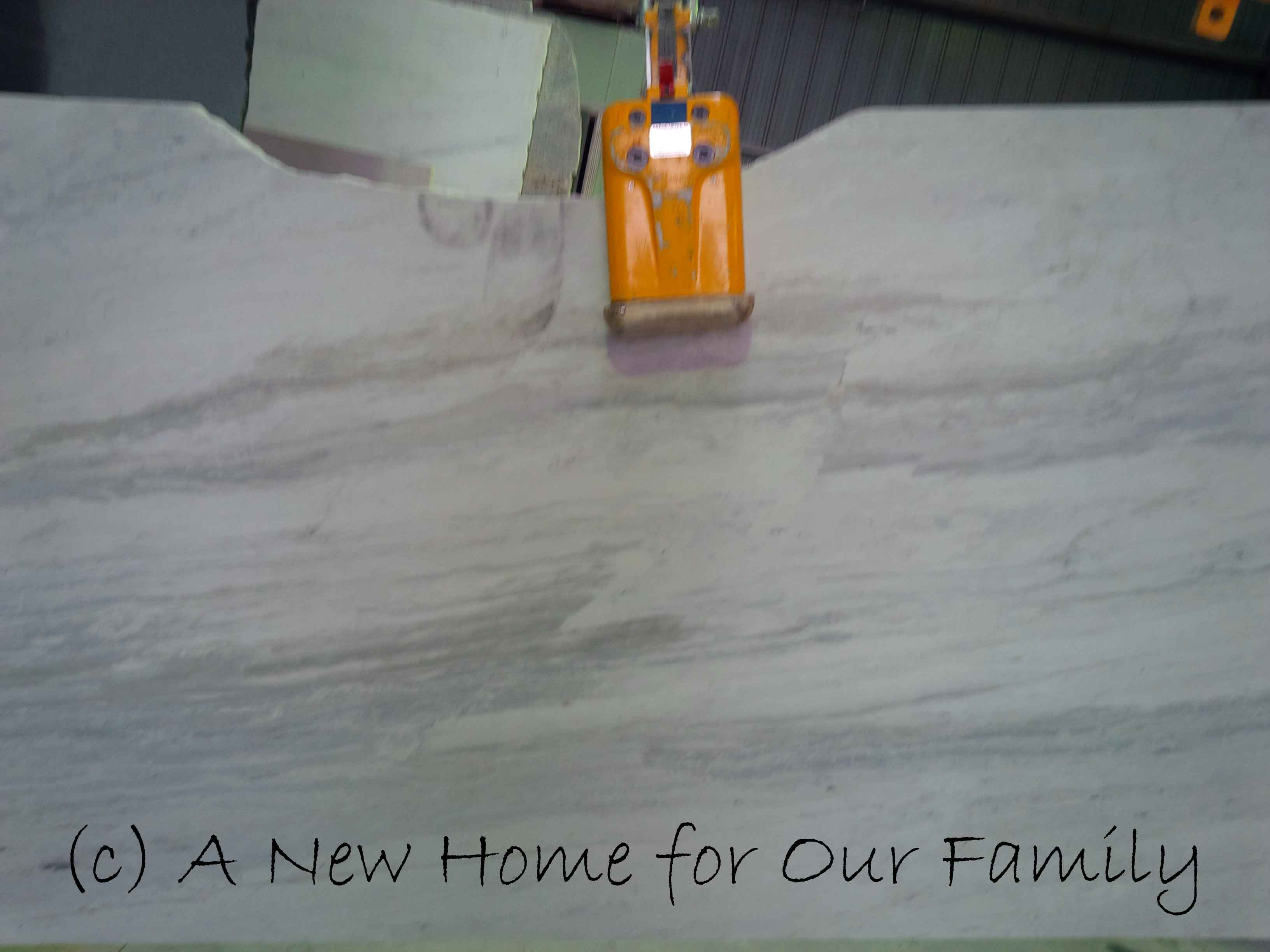 Stone for kitchen bench top