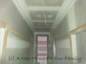 Picture Rails Hallway