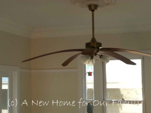 Living Area - Ceiling Fan