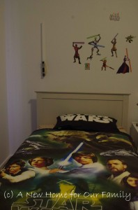 Star Wars Room - Bed
