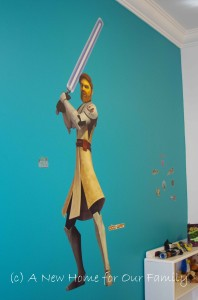 Star Wars Room - Lifesize Obi Wan Kenobi