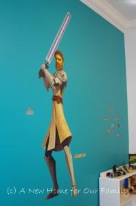 Star Wars Room - Lifesize Obi Wan Kenobi