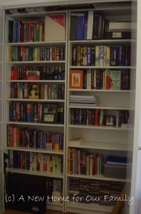 Study wardrobe - Ikea Billy bookcases