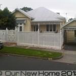 Period house facade