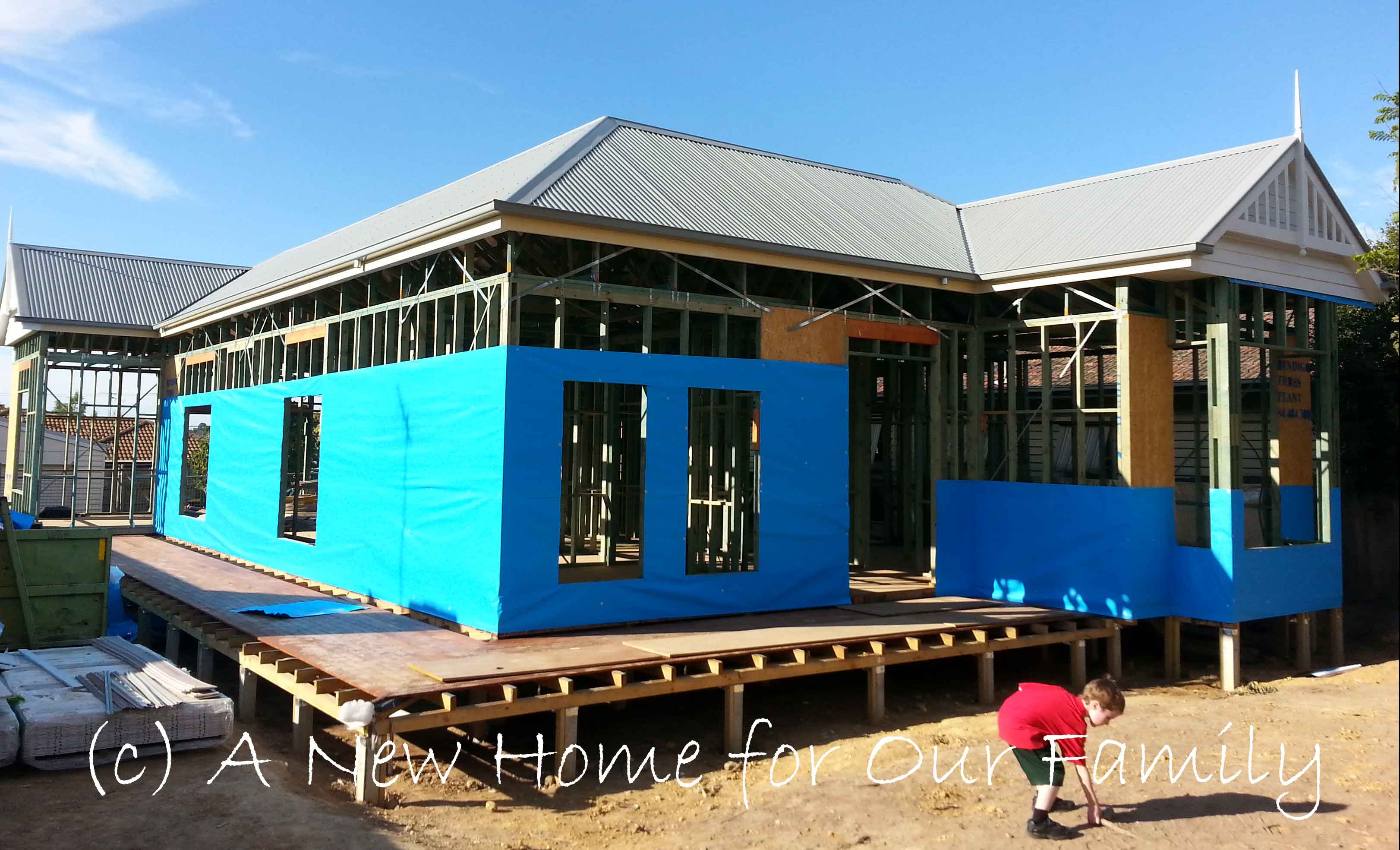 Starting the Cladding