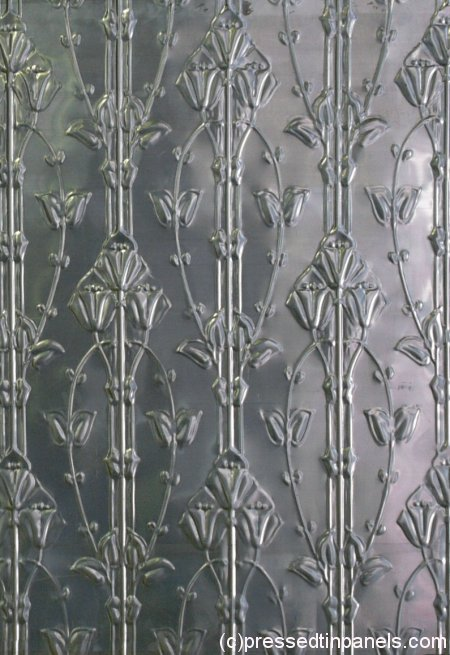 Pressed Tin Panels: Lily (photo from Pressed Tin Panels)