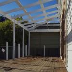 Rear Deck Construction