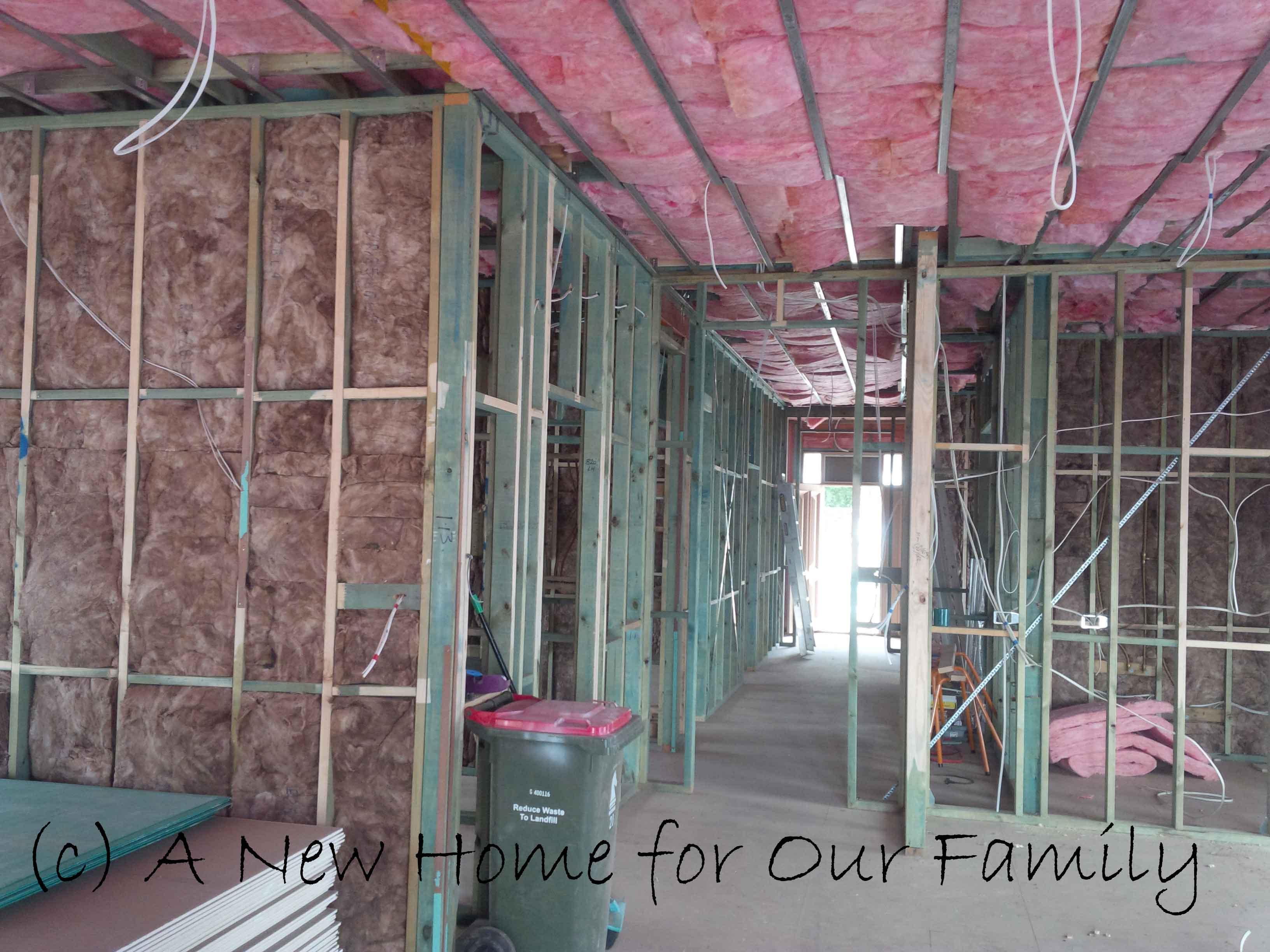 Insulation- Living and Hall