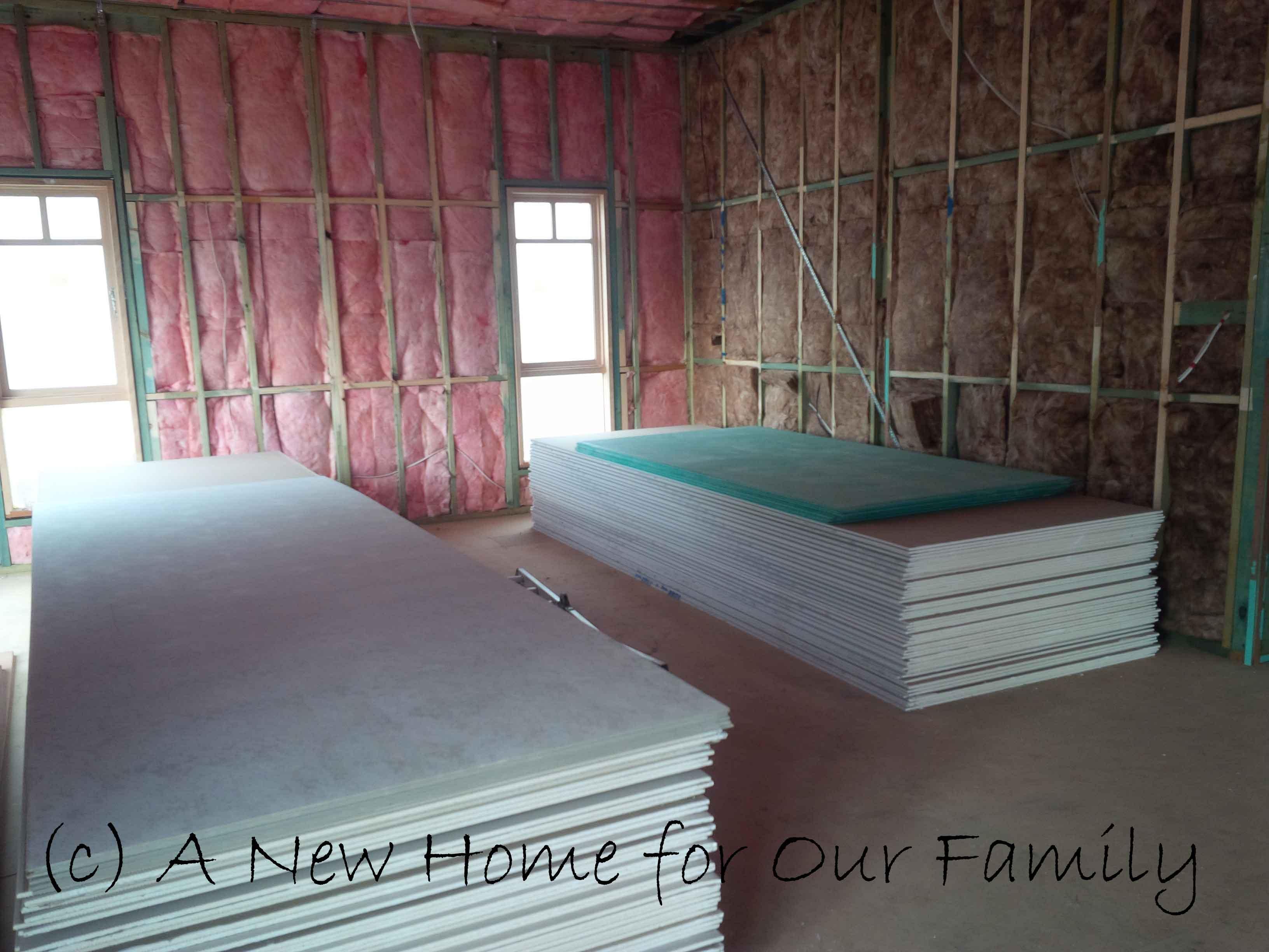 Insulation- Bedroom 2