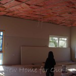Plastering - Living Area