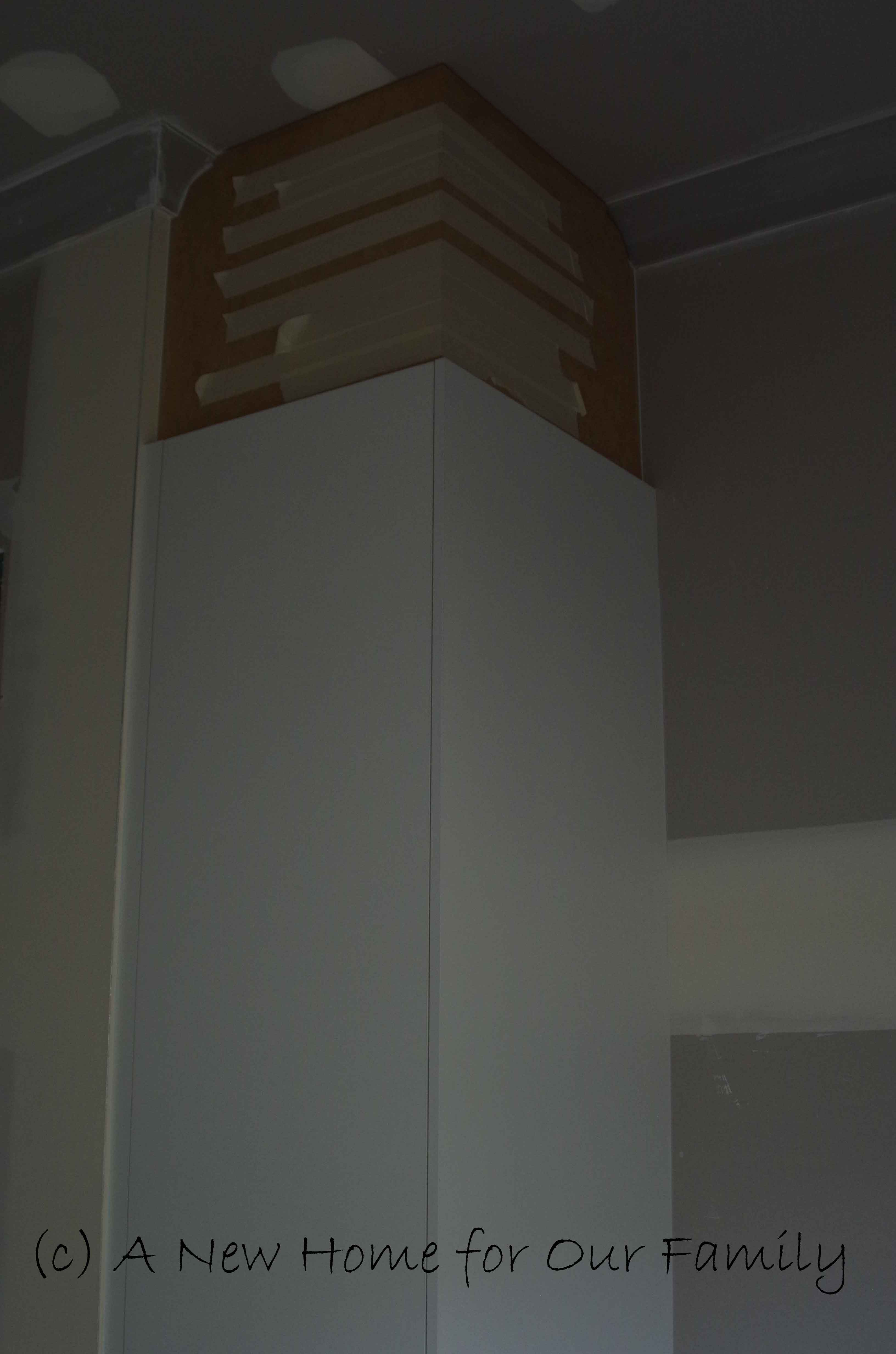 Laundry Cabinets In Progress